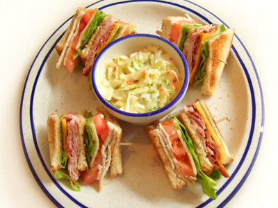 Dinah's Club Sandwich
