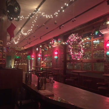 Estereo is decorated to the brim for the holiday season!